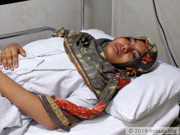 Rimsha Kaif needs your help to undergo her treatment