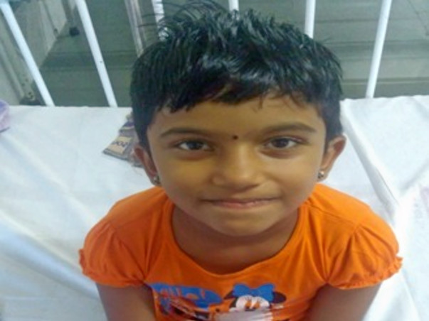 Help 6-Year-Old Jeevitha Undergo Bone Marrow Transplant