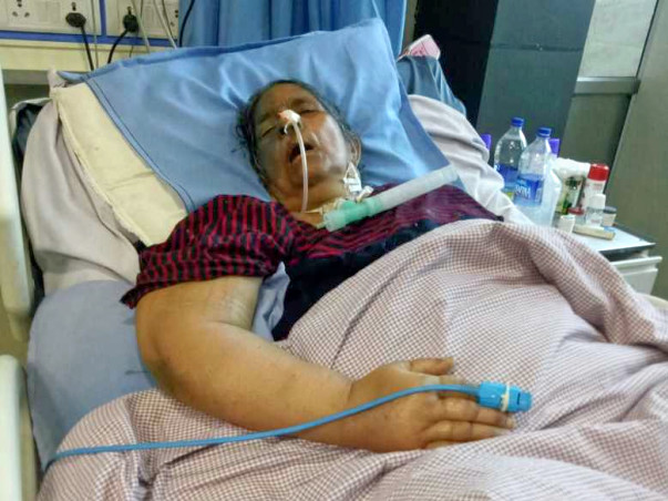 Help My Mother Fight Brain Hemorrhage And Acute Respiratory Failure