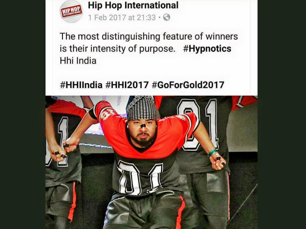 Help to Get Gold for India in World Hip-hop Battle