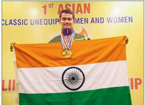 Help Indian Champion to participate in Asia powerlifting championship