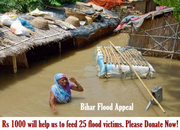 Food for Flood Victims in Bihar!