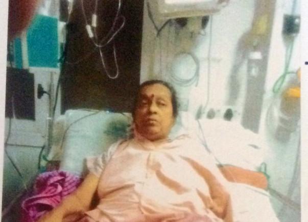 Help Vijaya Shenoy Stand On Her Feet