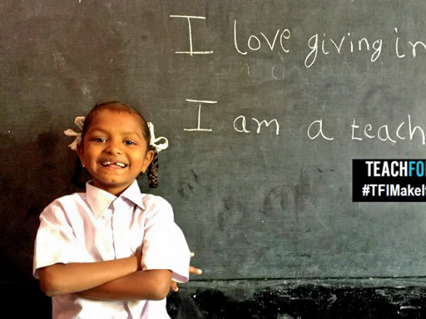 I am running a marathon to bring Classroom Resources To TeachForIndia's Low Income Schools In Bangalore