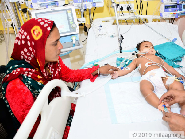 Sufiyan Is Lying Unconscious With A Failing Heart, Needs Urgent Help
