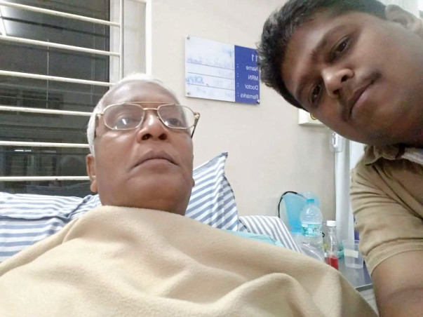 Support Bhaskar For His Father's Open Heart Surgery