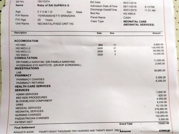 Help Premature Baby Born on 28th Nov'18 Still in NICU Recover