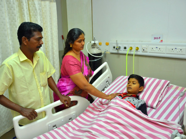 9-Year-Old Boy, Master Bose Nanda A Needs Heart Transplant