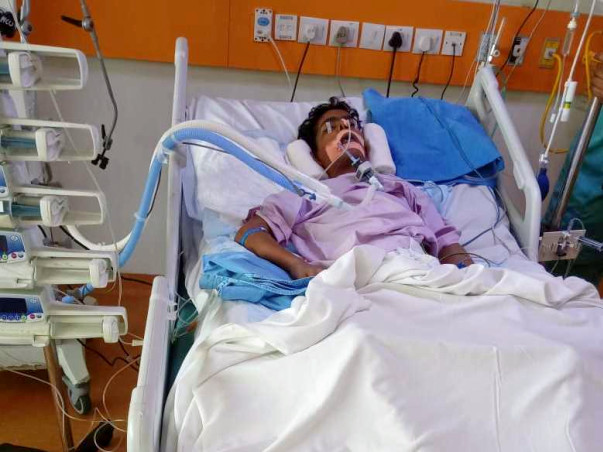 Help Waqqas Fight Severe Dengue and Aspergillosis