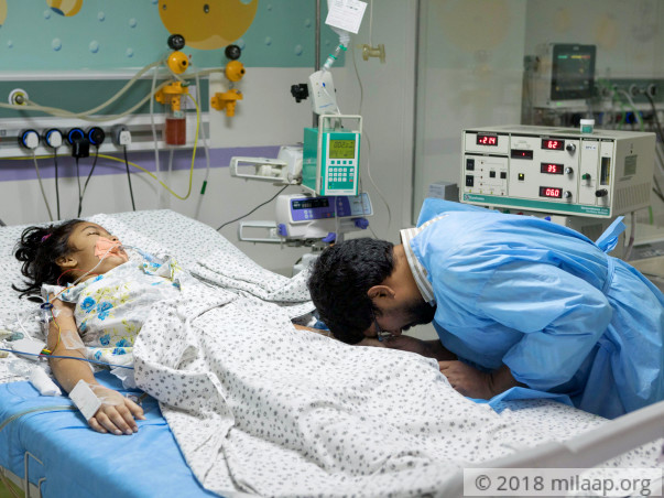 this little girl is in a coma fighting for her life in the icu milaap