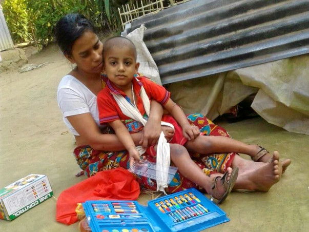 Help This 4 Year Old Child Prasenjit Suffering From Blood Cancer