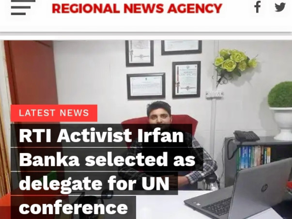 Help Irfan Banka Attend MUN, September 2019