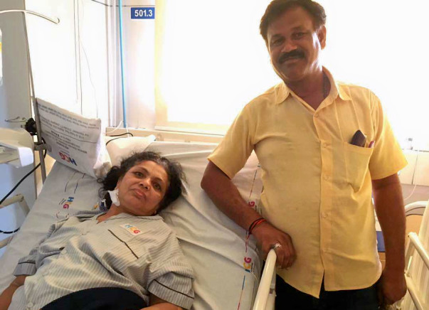 Help 55-Year-Old Shardaben Undergo A Hip Replacement Surgery