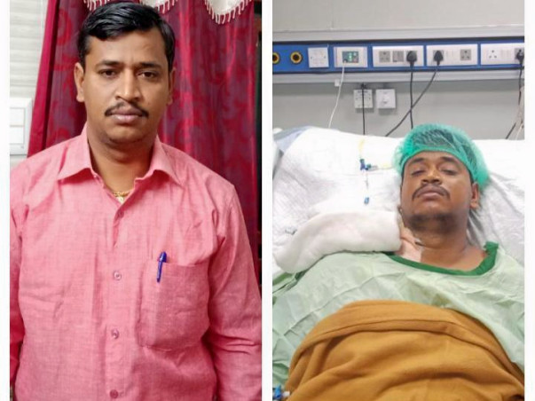 "Help Raja Bharathi Who Is Fighting With ""Acute Liver Failure"""