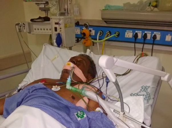 Please Help Shahulhameed Struggling For His Life In ICU