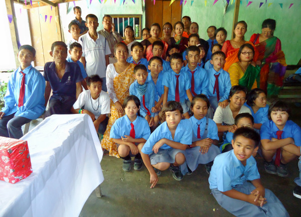 HELP TO RESTORE FLOOD AFFECTED HANDICAPPED RESIDENTIAL SCHOOL
