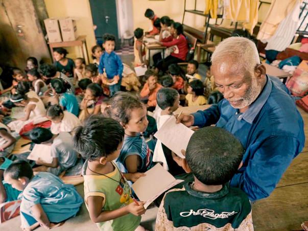 Help Prakash Rao Provide Education And Nutrition For Slum Children