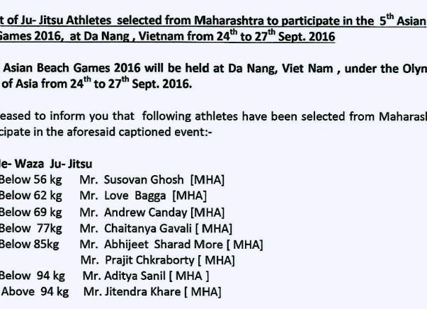 Asian Beach Games sponsership