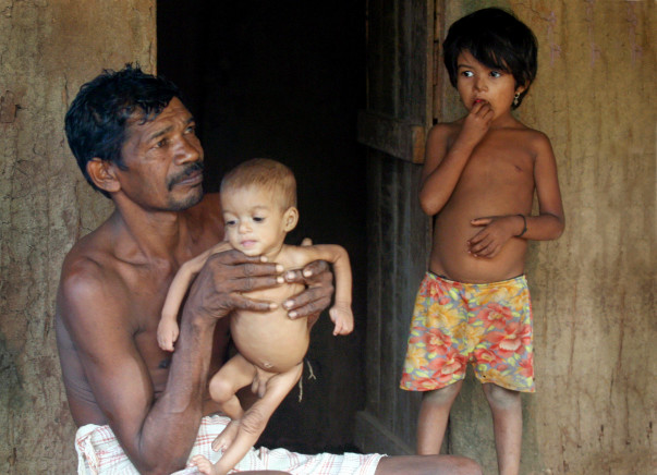 Feed a Tribal Child from Hunger