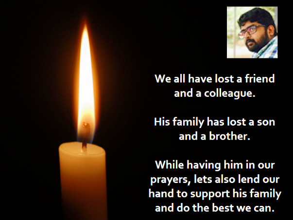 Support Sandeep's Family