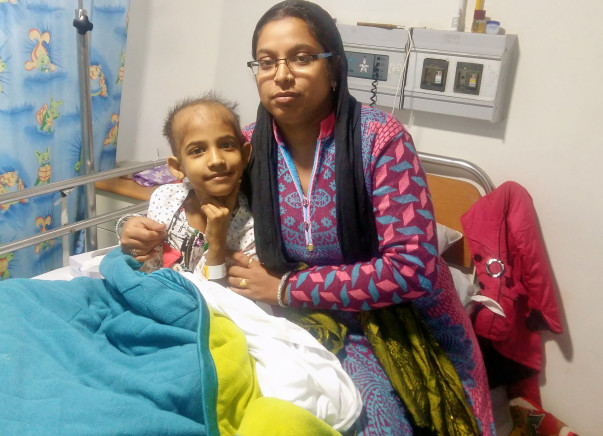 Help 7-year-old Vanshika fight a cancer