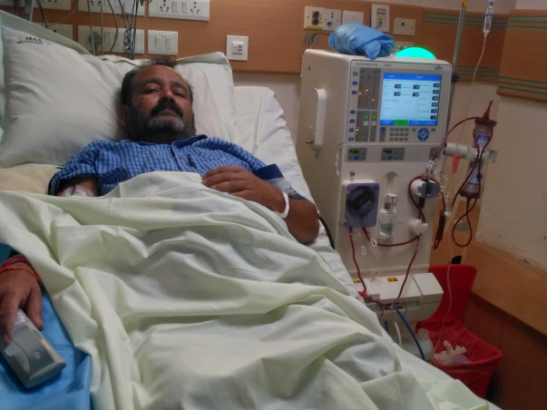 Support Anil for Kidney Dialysis