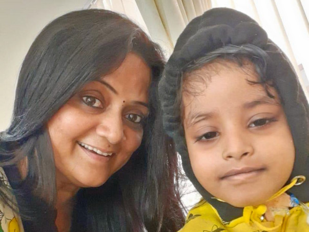 7 years old Lasya needs your help fight Multiple myeloma (bone marrow Cancer)