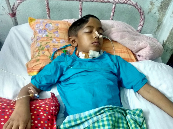 Help My Son From Brain Haemorrhage