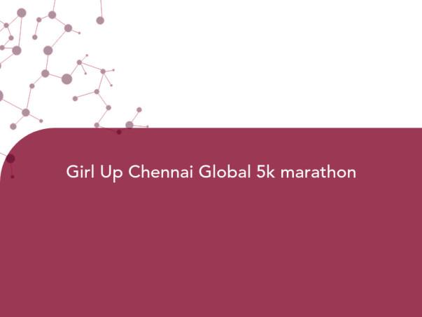Girl Up Chennai Global 5k Run