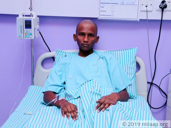 Raghul needs your help to undergo his treatment