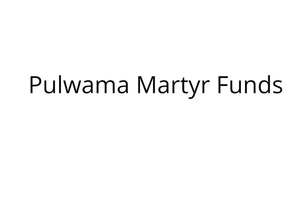 Help Raise Funds For The Families Of Pulwama Bravehearts! Jai Hind