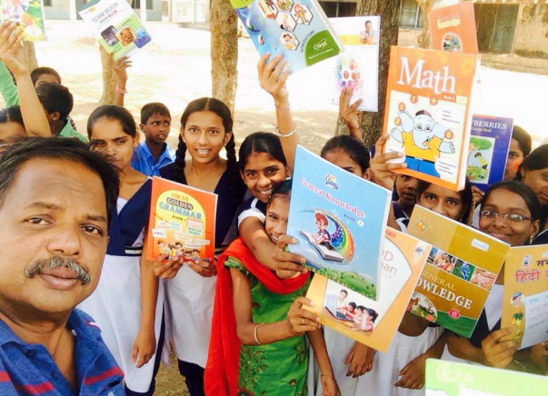 Help in Building 100 Libraries in Villages