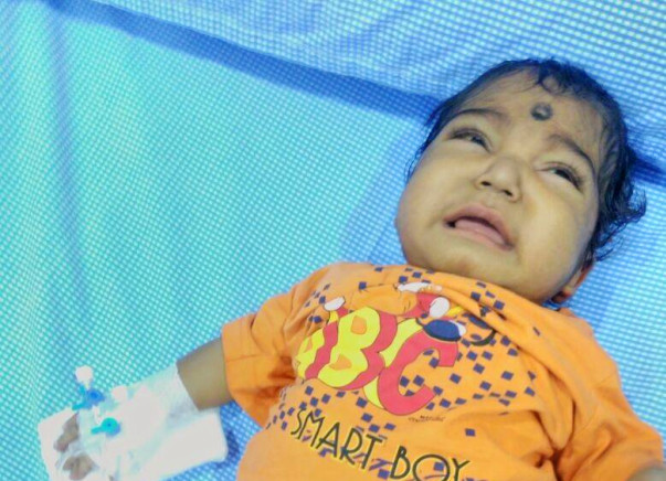 Please Help Baby Sriman For His Liver Transplantation Surgery