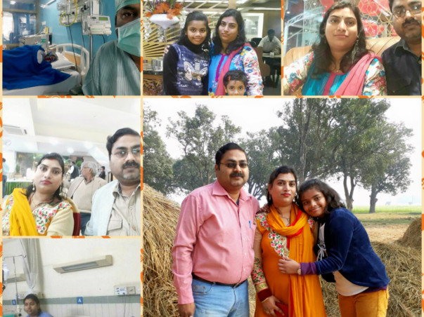 Help Saurabh and Alka fight through AML-M1 Blood Cancer (Leukemia)