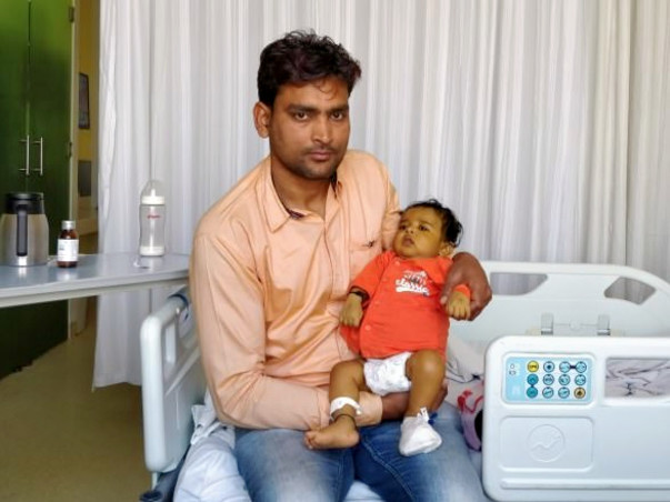 5-month-old Viraj Is Running Out Of Time To Get A Liver Transplant