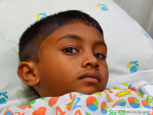Help Sahaya Reno Undergo A Cardiac Surgery