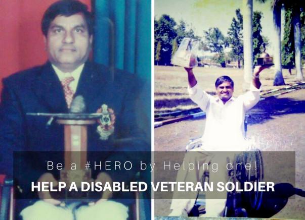 HELP A DISABLED VETERAN SOLDIER