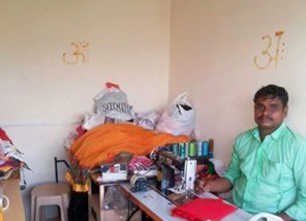 I am fundraising to helping Venkatesh - a tailor