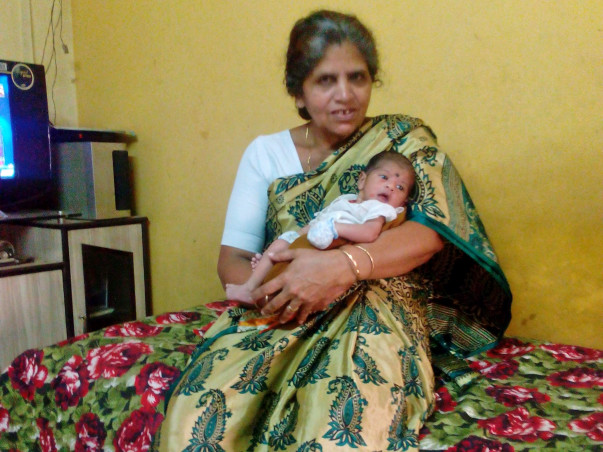 Help 52-year-old Baby Selvaraj To Be Cured From Brain Hemorrhage