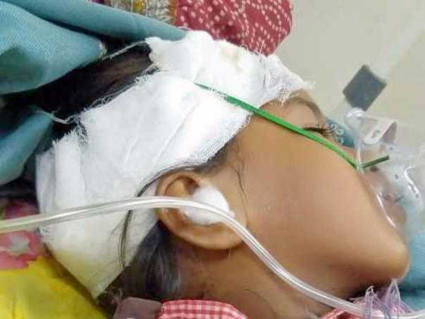 Help Sanjana Recover From Head Injury