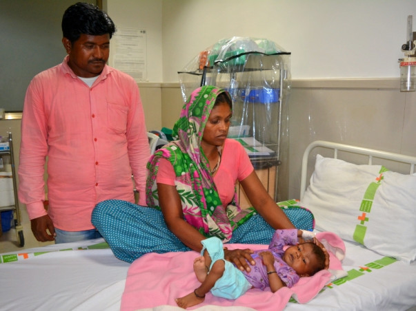 Help A Labourer's 8 Month Old Son Survive With An Open Heart Surgery