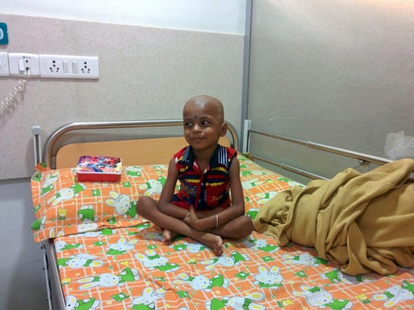 I am participating in Daan Utsav to  help 3 year old Rahul fight leukemia