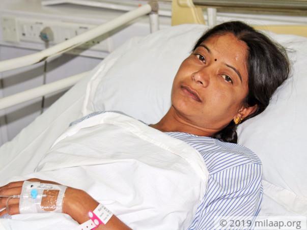 Help Mamatha fight heart disease