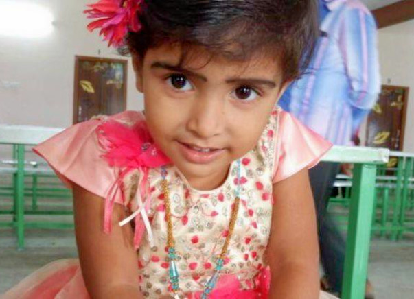 At 3, Baby Arfana Is Getting Friendly With Cancer Instead of Toys