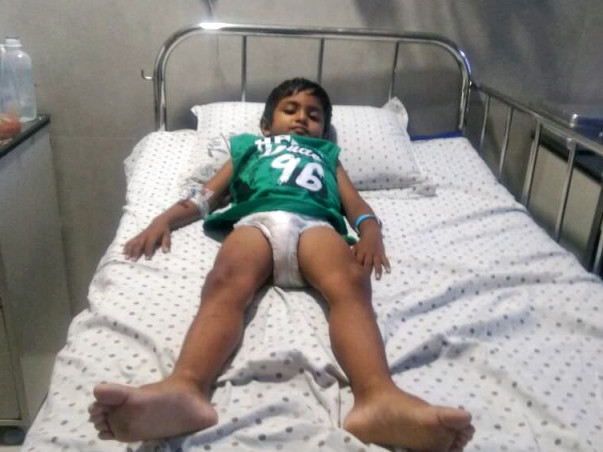 Help 5 Year-Old Kalyanram Fight Blood Cancer