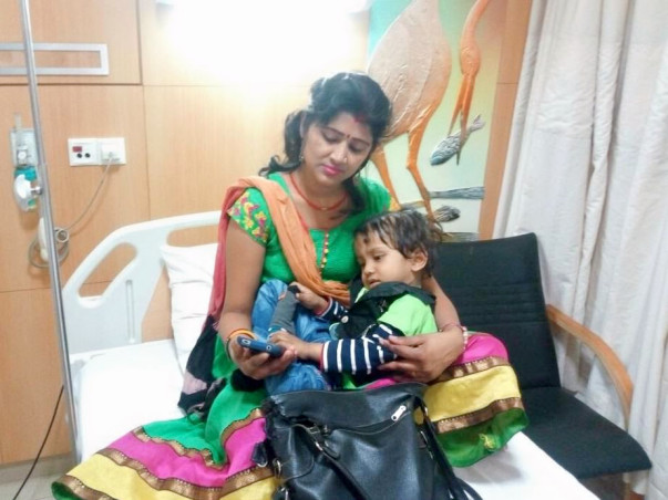 Help 2-Year-Old Rudra Fight Blood Cancer