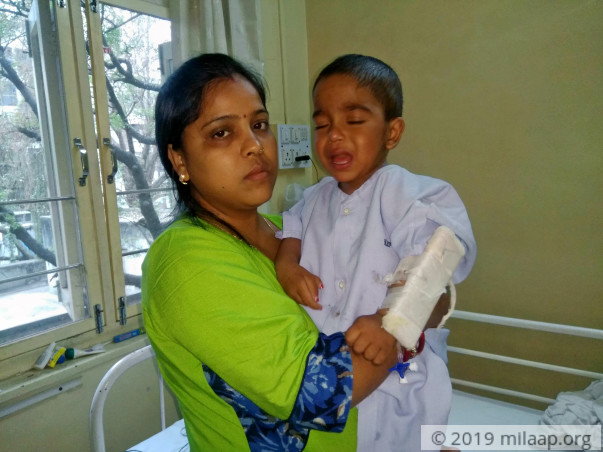 Help 2-year-old Rishu fight liver disease