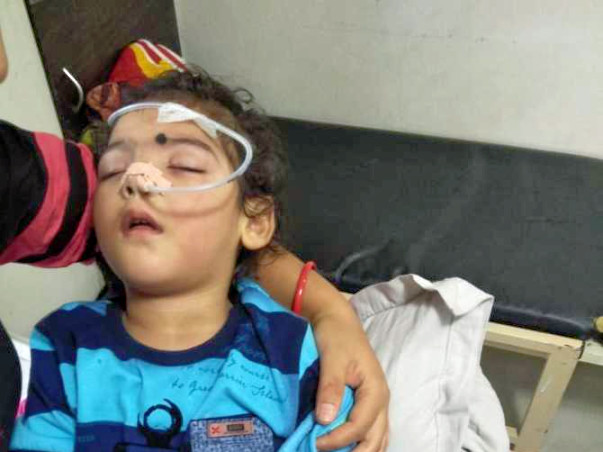 Help  Sanyam To Recover From Cerebral Palsy