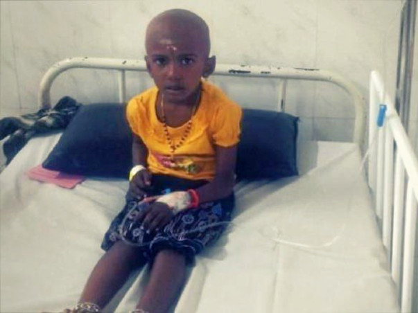 Save 6-year-old Jothisha from stage-4 kidney cancer
