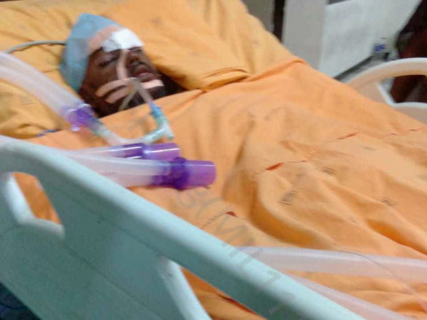 22 Years Old Sathish Needs Help To Fight Severe Traumatic Brain Injury